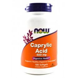 NOW Foods Caprylic Acid Kwas kaprylowy